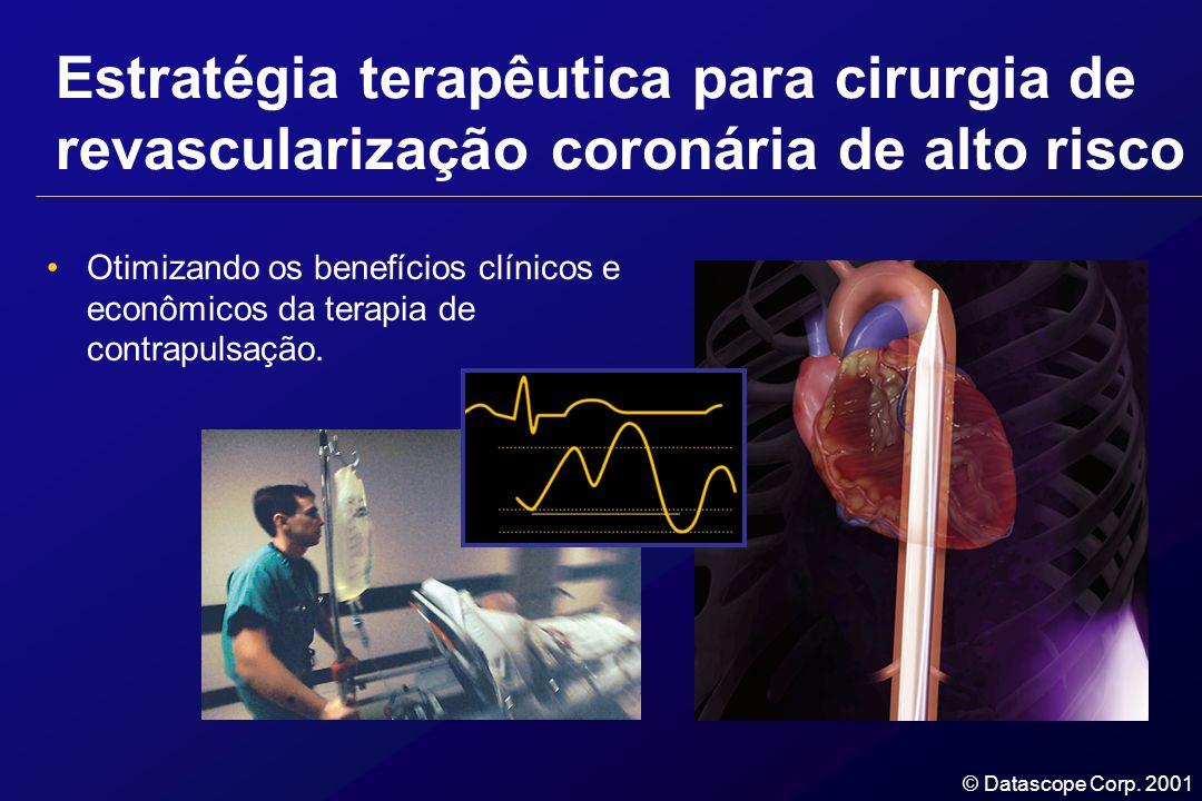 Estratégia terapêutica para cirurgia de revascularização coronária de alto risco