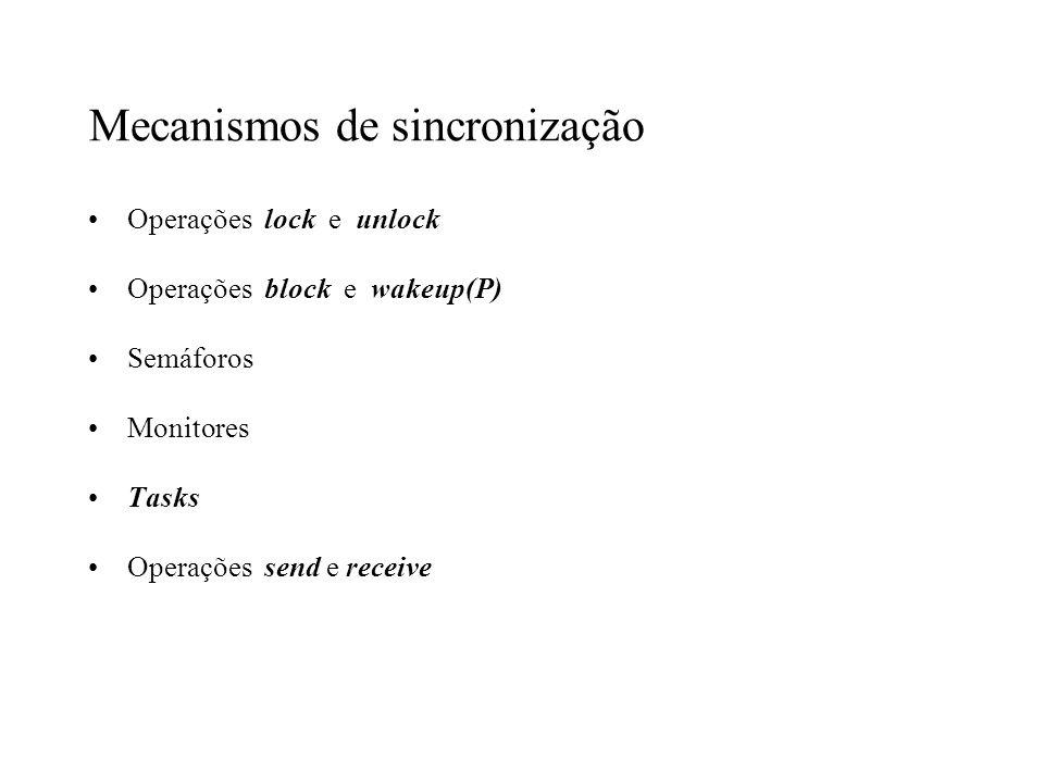 Mecanismos de sincronização