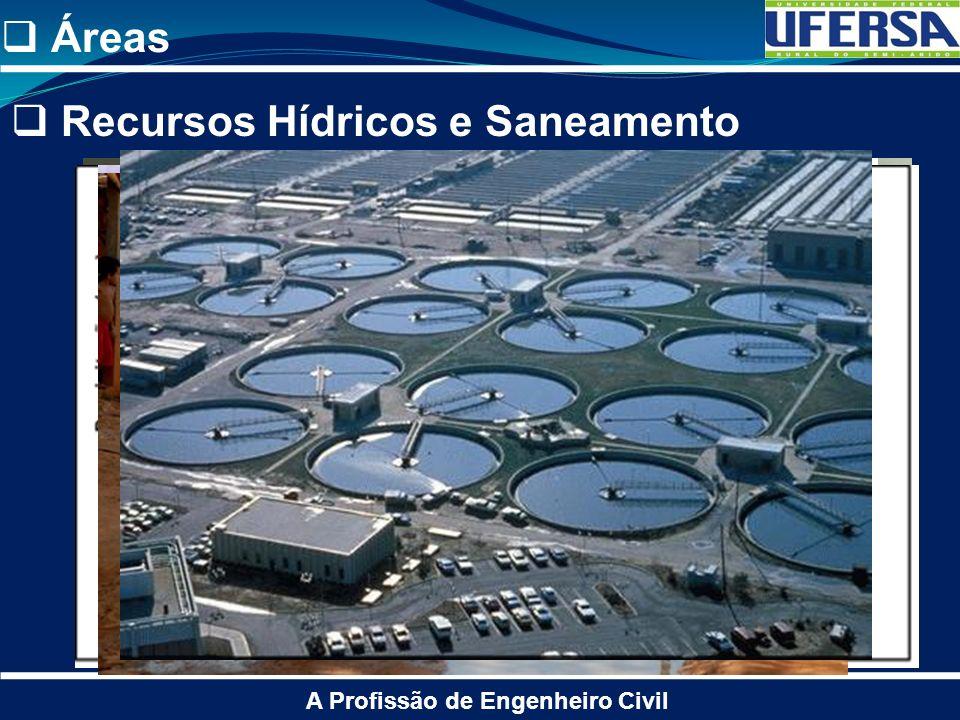 Recursos Hídricos e Saneamento A Profissão de Engenheiro Civil