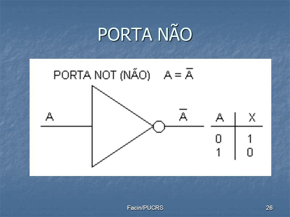 PORTA NÃO Facin/PUCRS