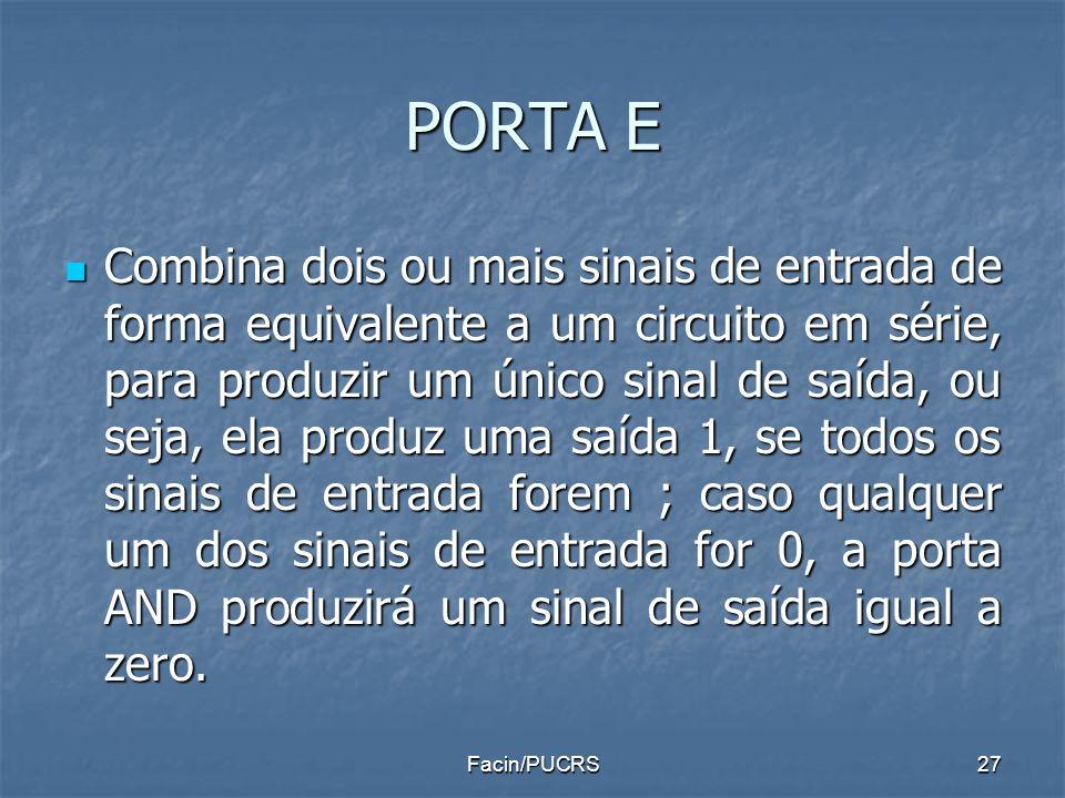 PORTA E