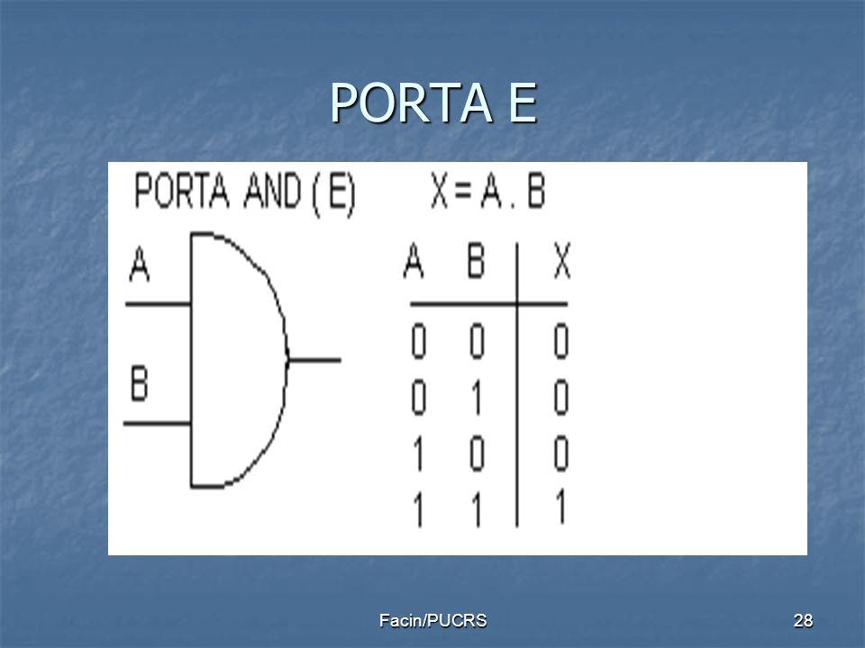 PORTA E Facin/PUCRS