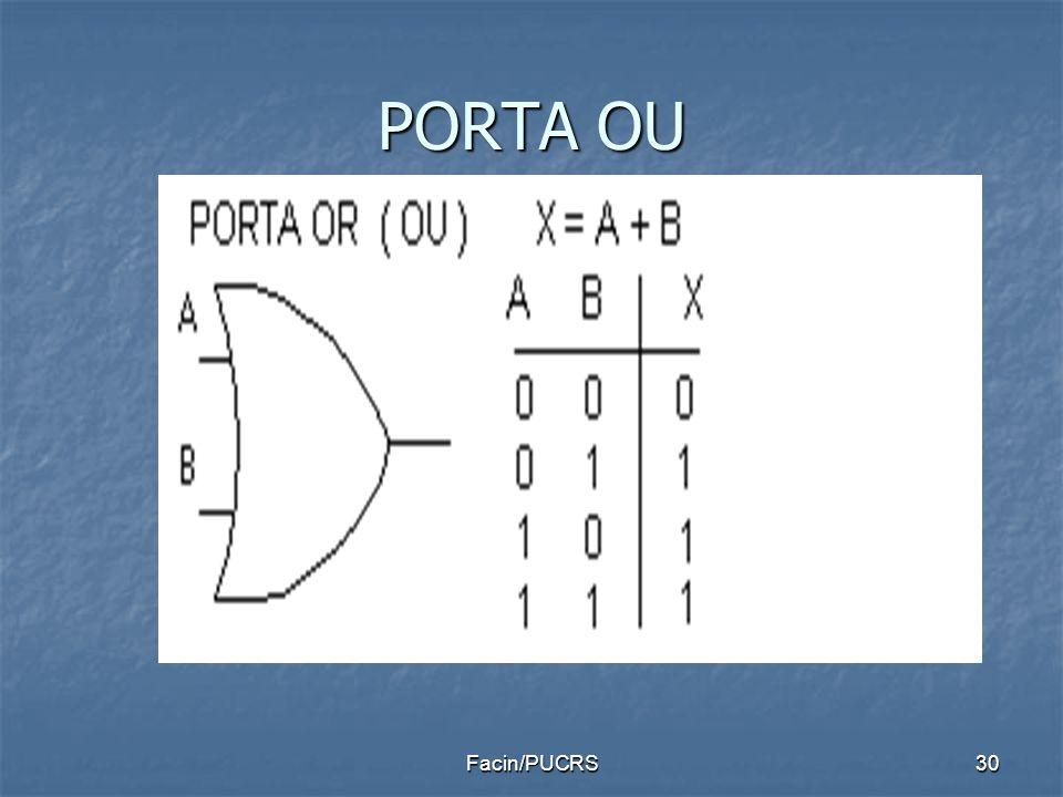 PORTA OU Facin/PUCRS