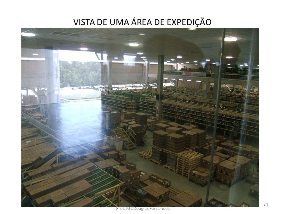 VISTA DE UMA ÁREA DE EXPEDIÇÃO