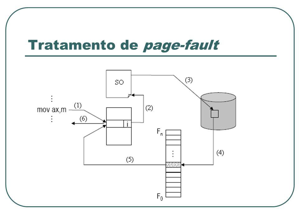 Tratamento de page-fault