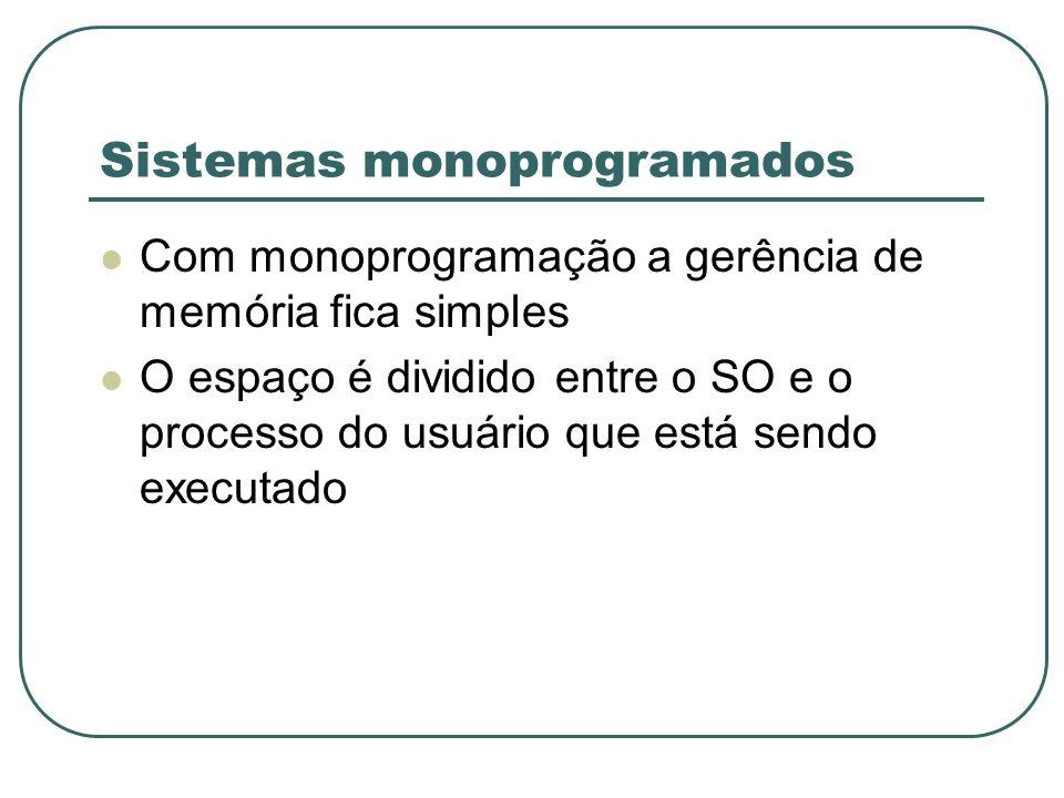Sistemas monoprogramados
