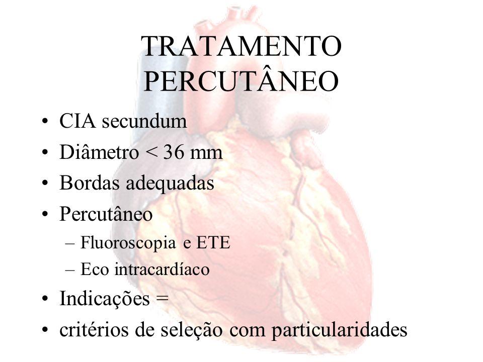 TRATAMENTO PERCUTÂNEO