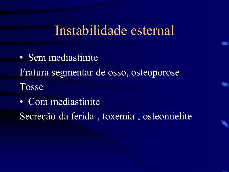 Instabilidade esternal