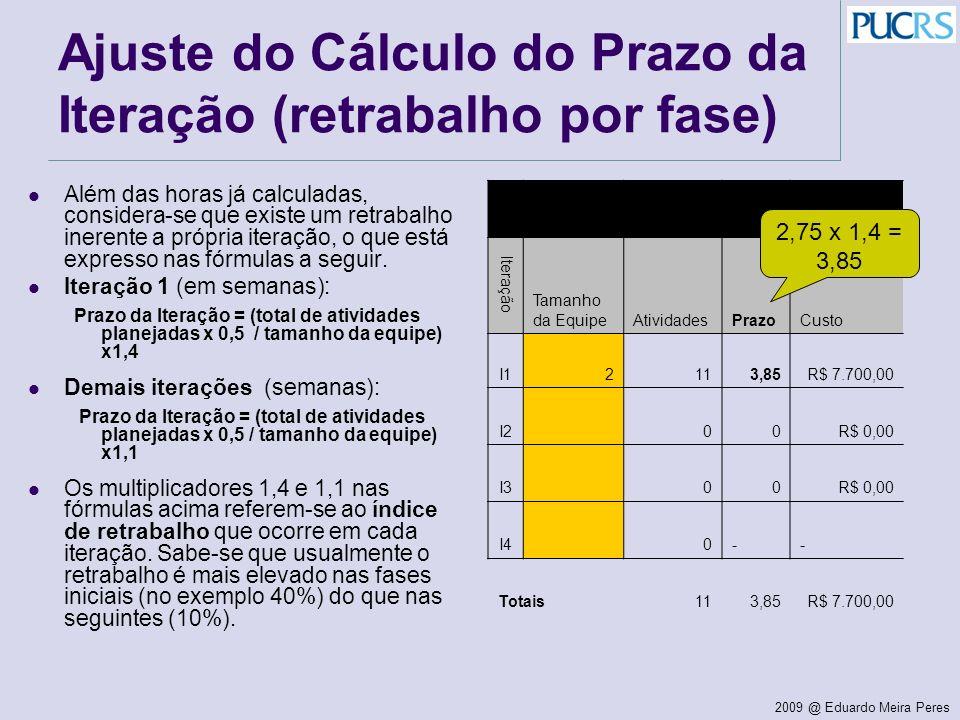 Ajuste do Cálculo do Prazo da Iteração (retrabalho por fase)