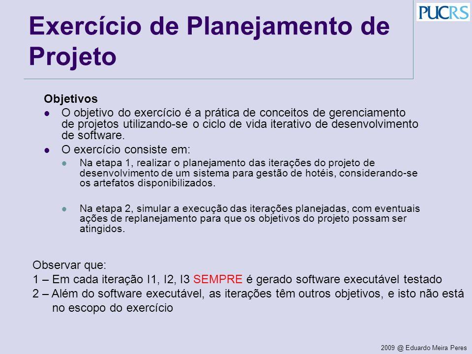 Exercício de Planejamento de Projeto