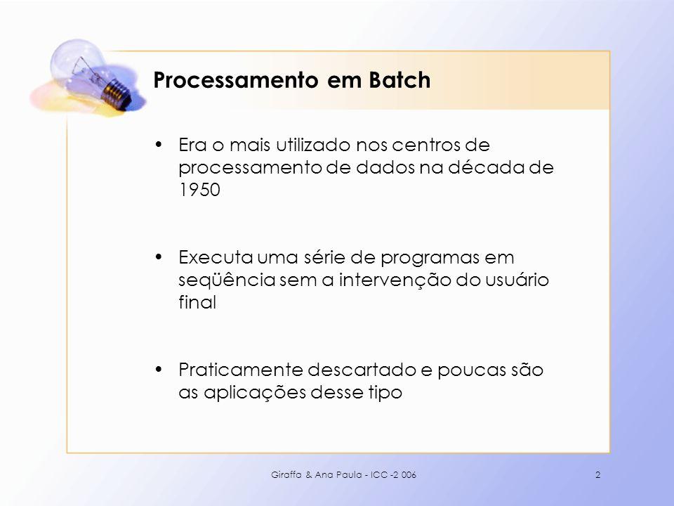 Processamento em Batch