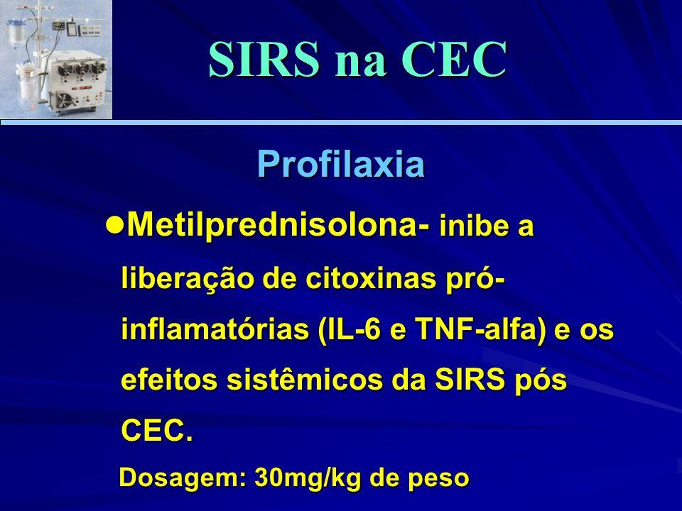 SIRS na CEC Profilaxia.