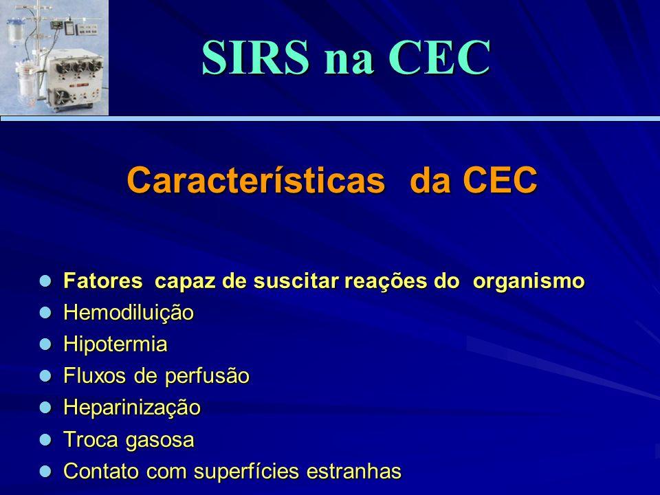 Características da CEC