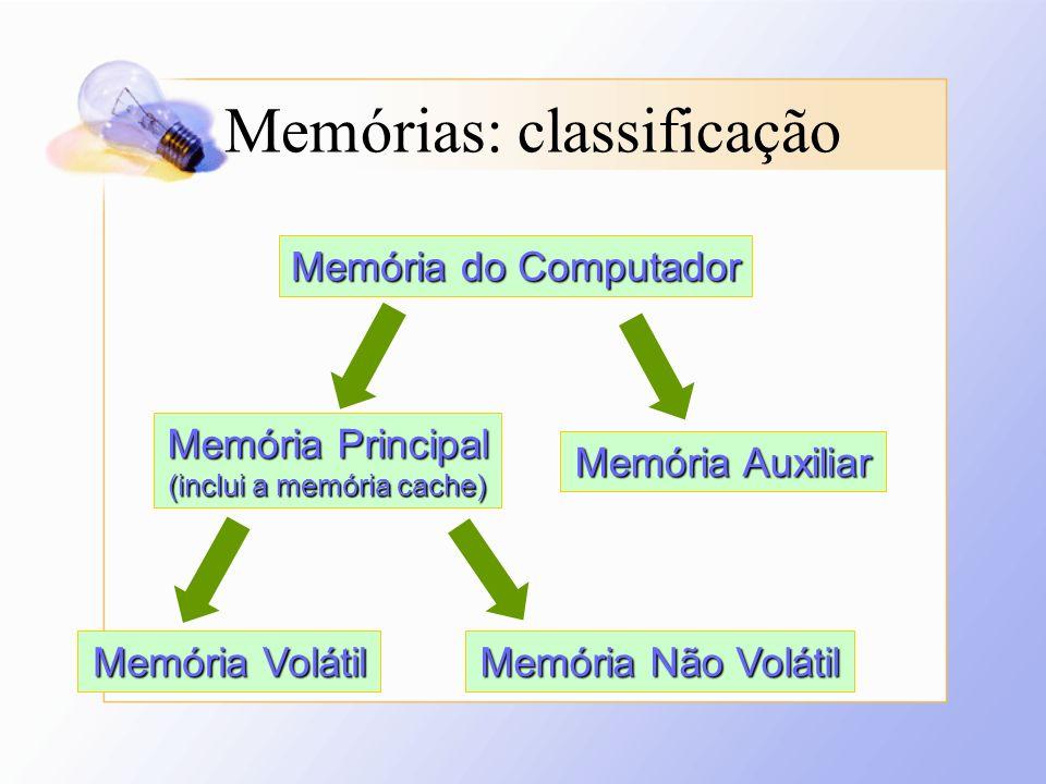 (inclui a memória cache)