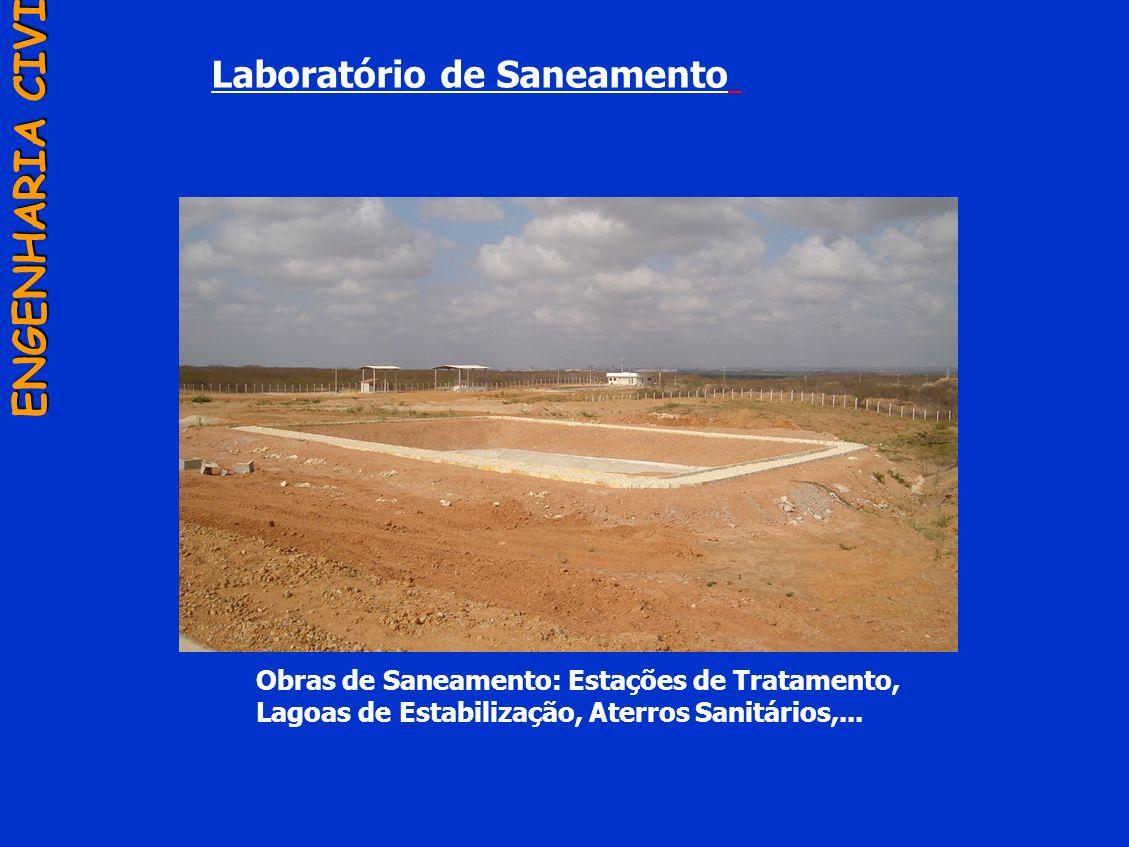 ENGENHARIA CIVIL Laboratório de Saneamento