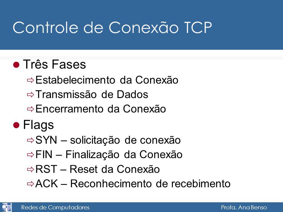 Controle de Conexão TCP