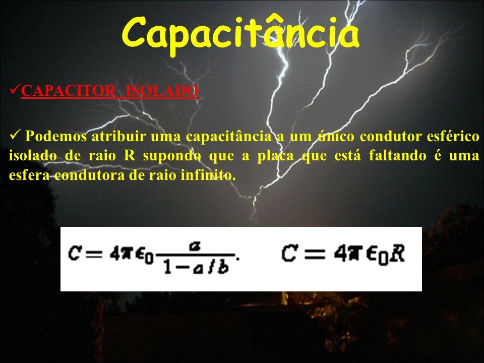 Capacitância CAPACITOR ISOLADO