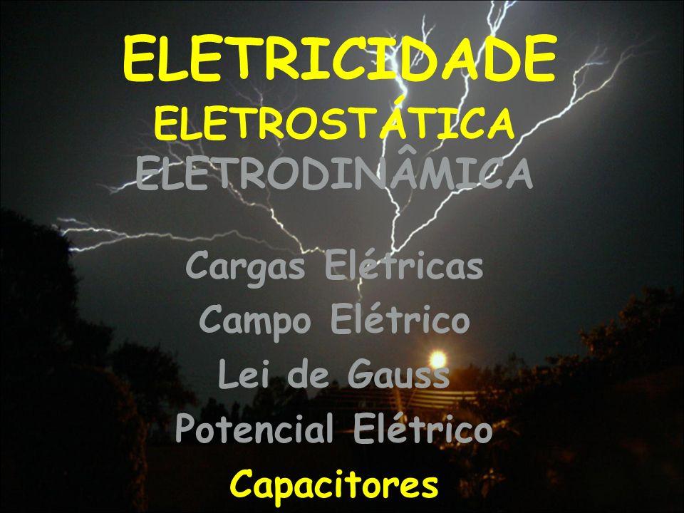 ELETROSTÁTICA ELETRODINÂMICA