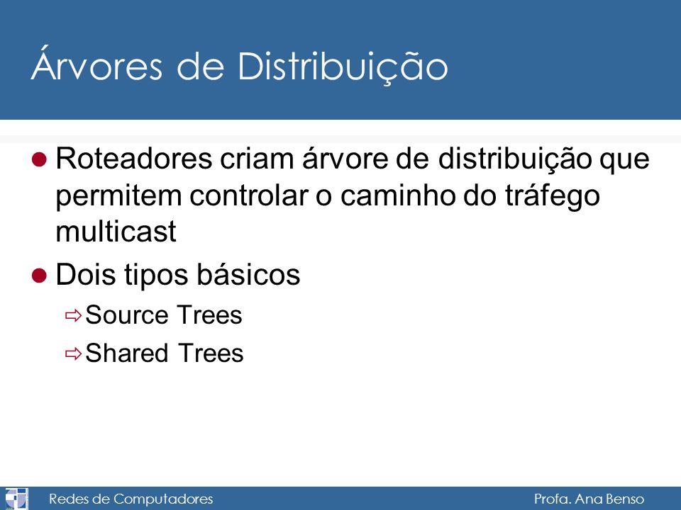 Árvores de Distribuição