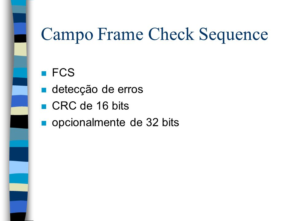 Campo Frame Check Sequence