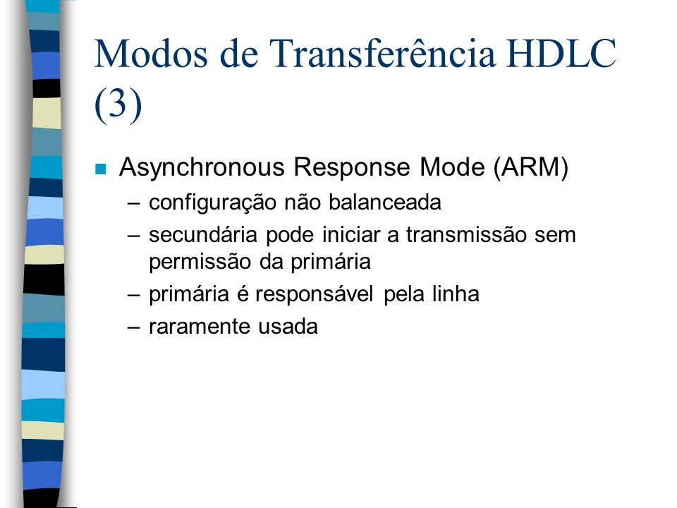Modos de Transferência HDLC (3)