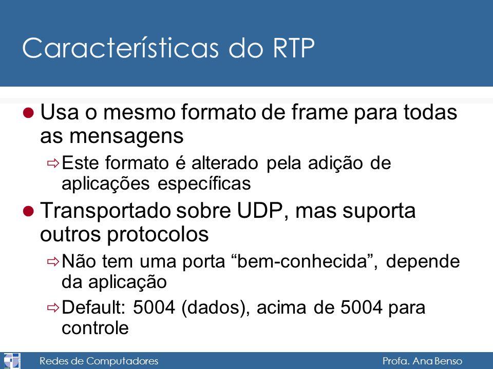 Características do RTP