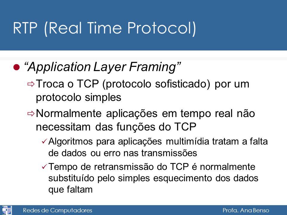 RTP (Real Time Protocol)