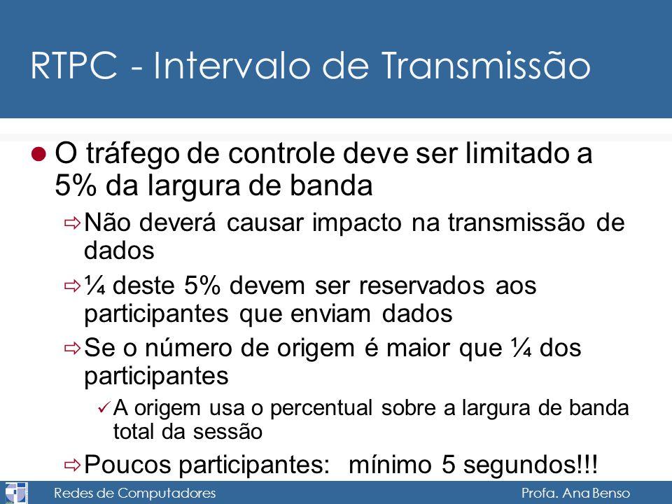 RTPC - Intervalo de Transmissão