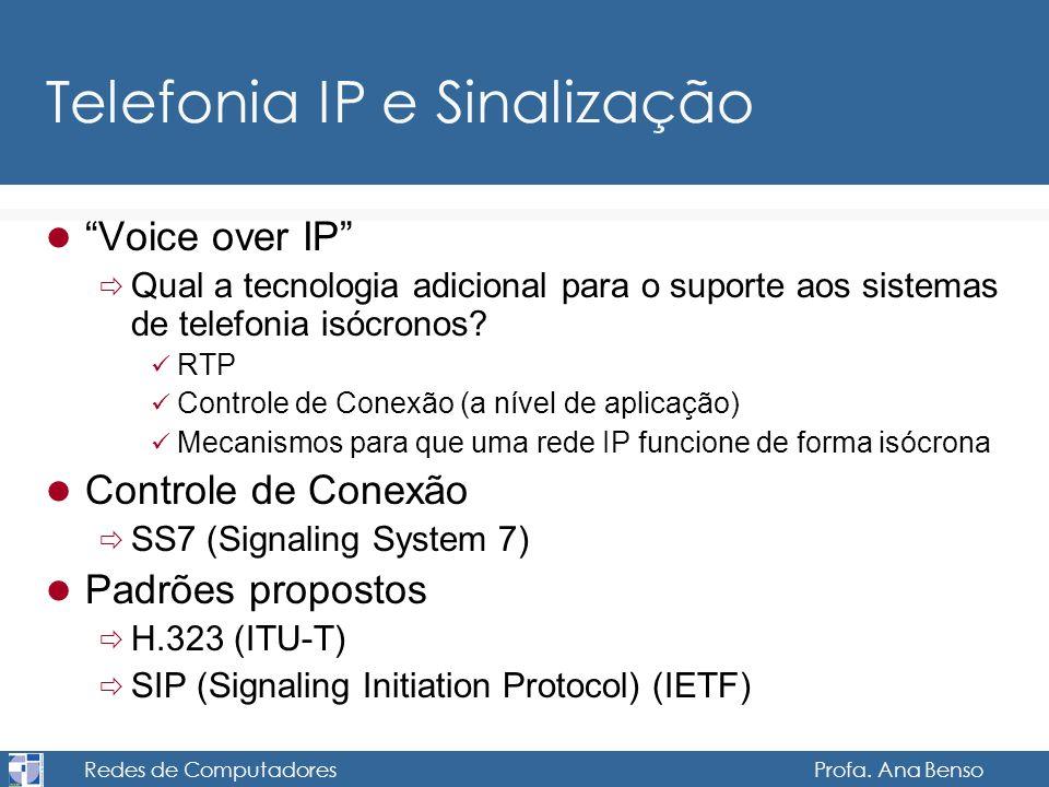 Telefonia IP e Sinalização