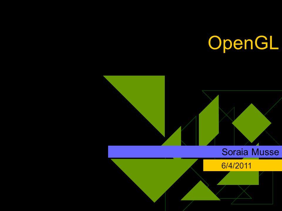 OpenGL Clique para adicionar texto Soraia Musse 6/4/2011