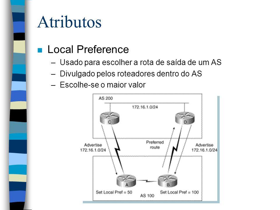 Atributos Local Preference