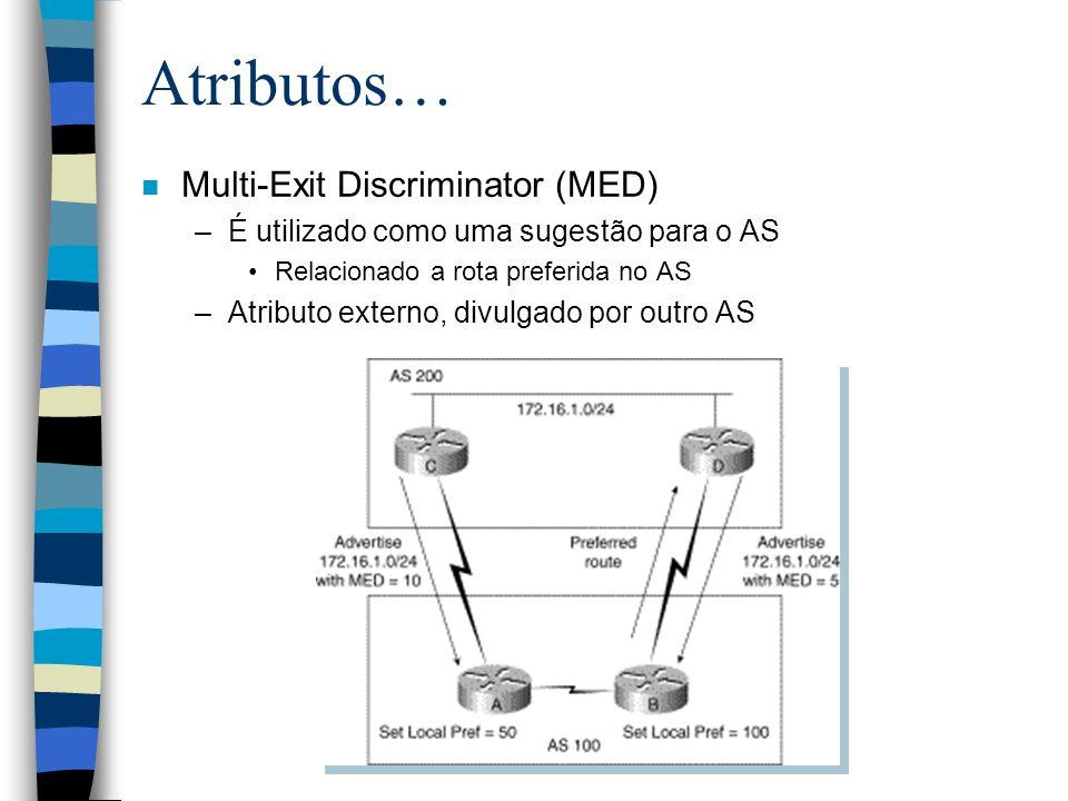 Atributos… Multi-Exit Discriminator (MED)