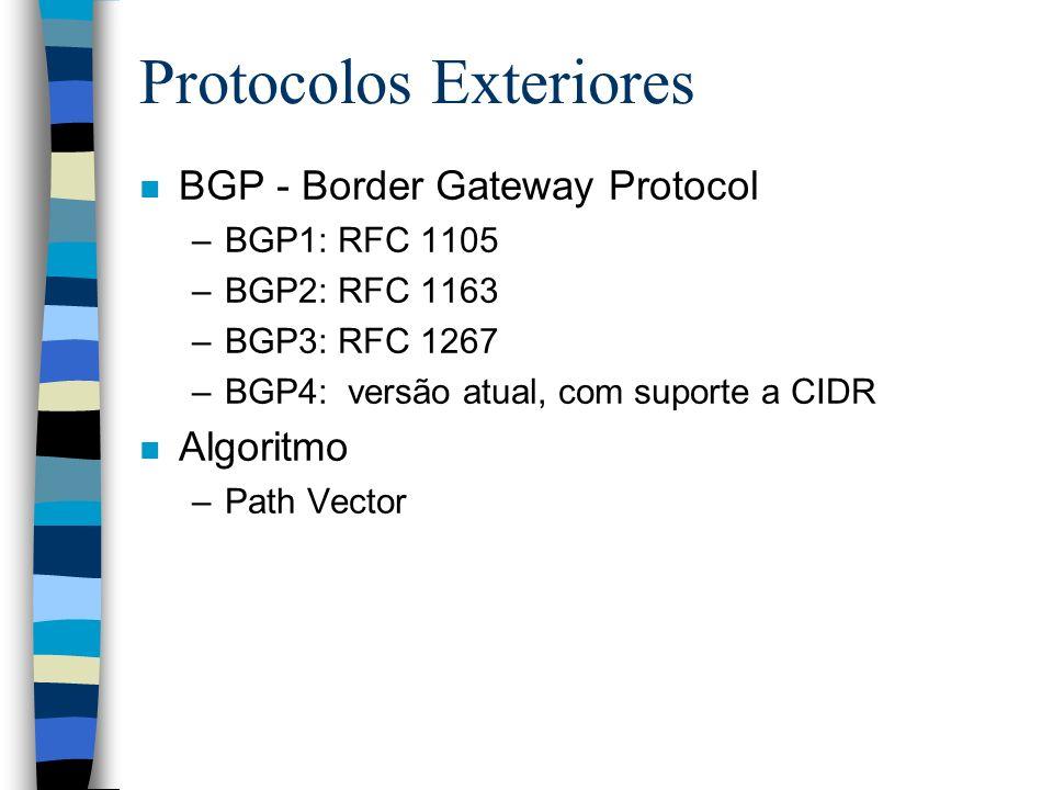 Protocolos Exteriores