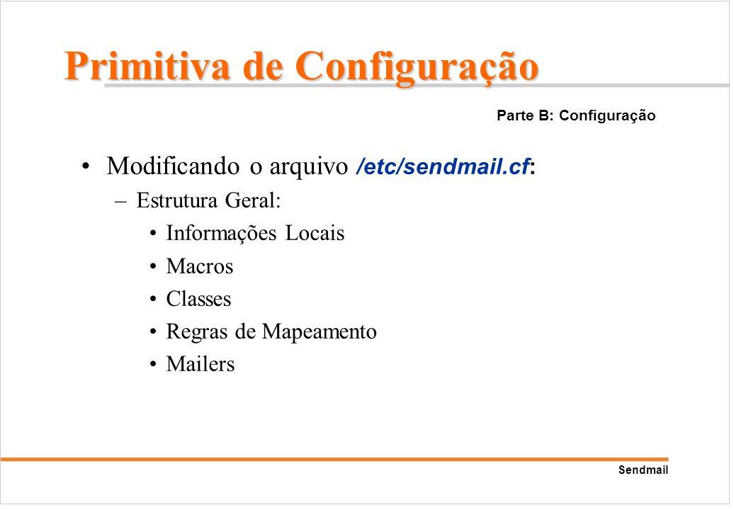 Primitiva de Configuração