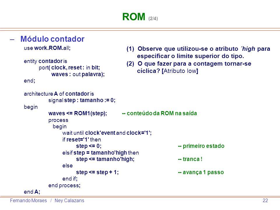 ROM (2/4) Módulo contador