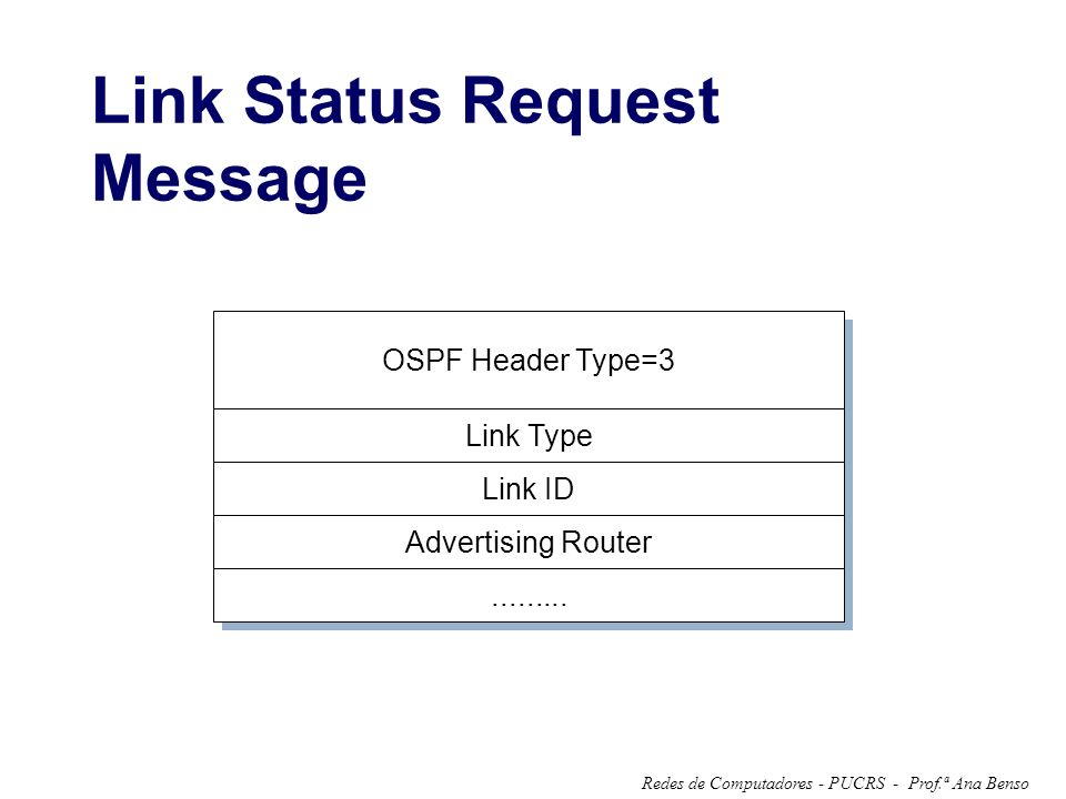 Link Status Request Message