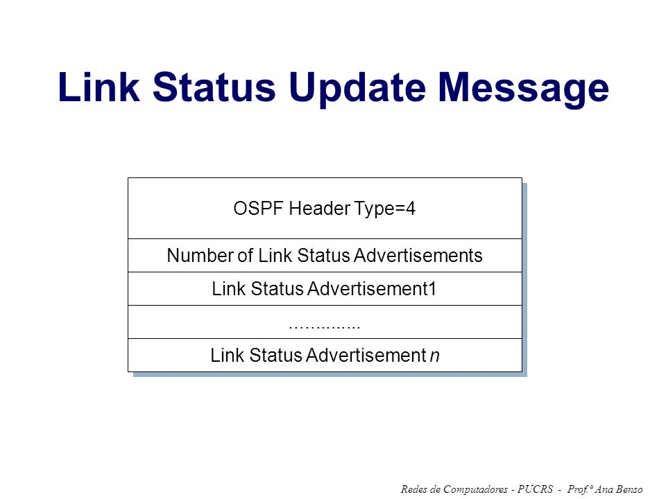 Link Status Update Message