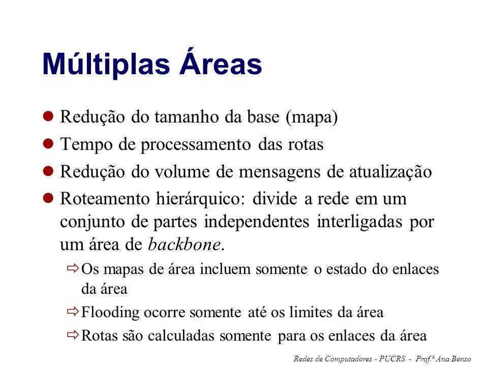 Múltiplas Áreas Redução do tamanho da base (mapa)