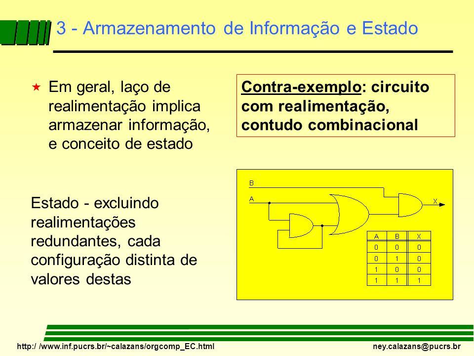 3 - Armazenamento de Informação e Estado