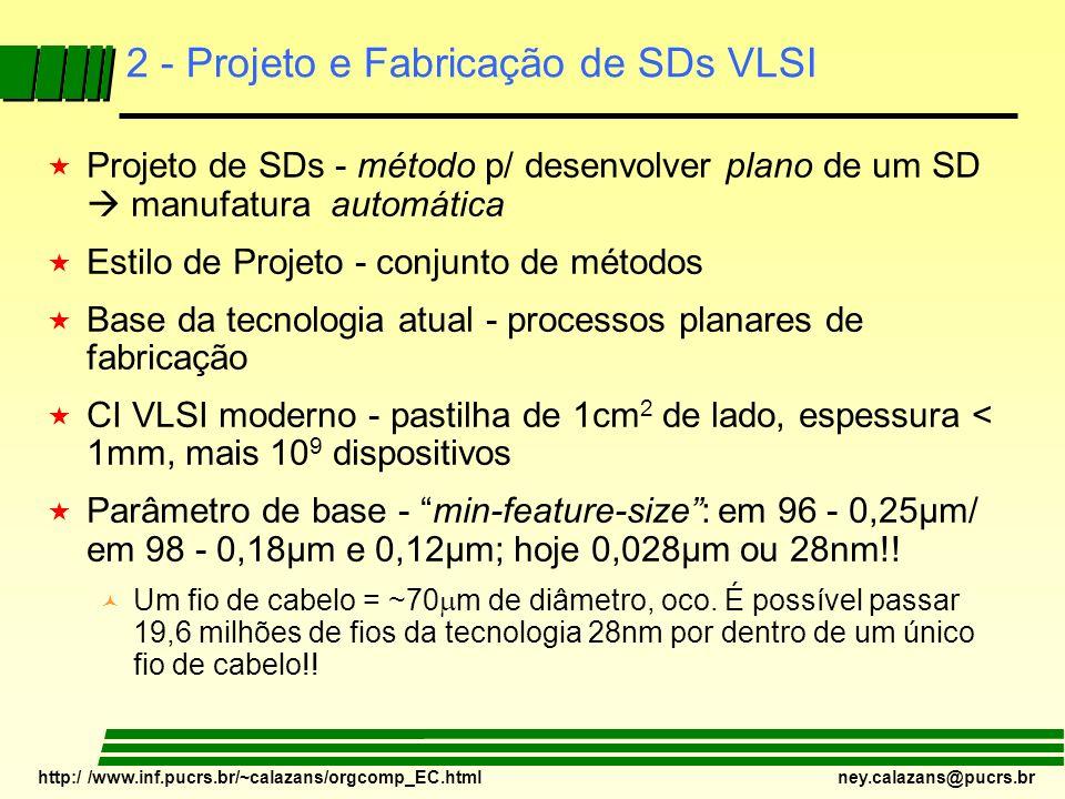 2 - Projeto e Fabricação de SDs VLSI