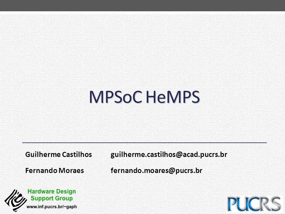 MPSoC HeMPS Guilherme Castilhos guilherme.castilhos@acad.pucrs.br