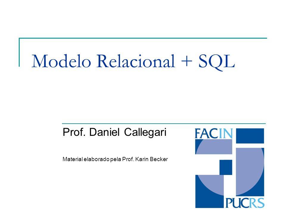 Modelo Relacional + SQL