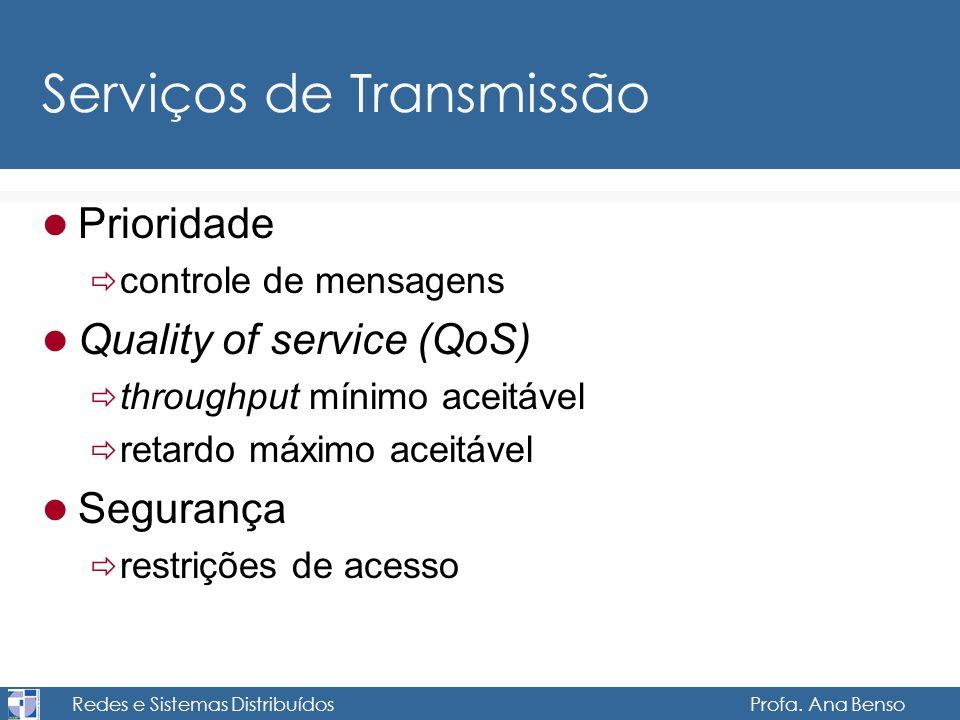 Serviços de Transmissão