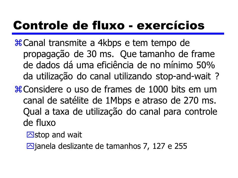 Controle de fluxo - exercícios