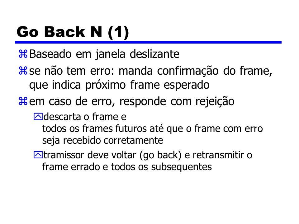 Go Back N (1) Baseado em janela deslizante