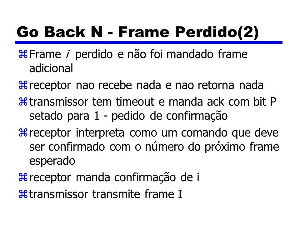 Go Back N - Frame Perdido(2)