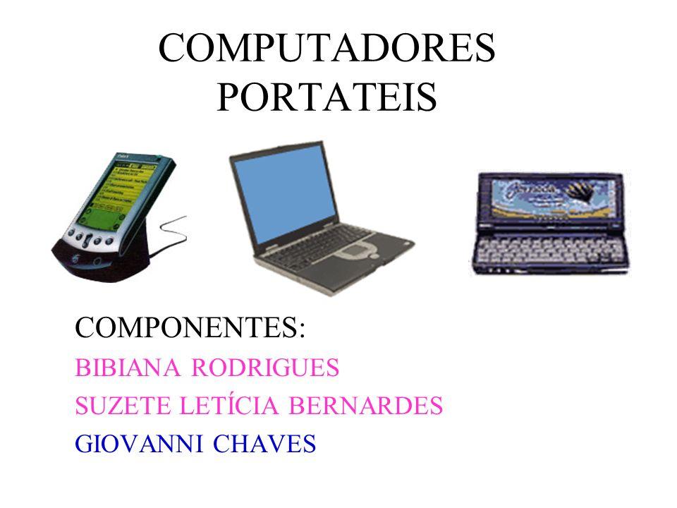 COMPUTADORES PORTATEIS
