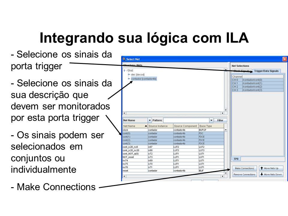 Integrando sua lógica com ILA