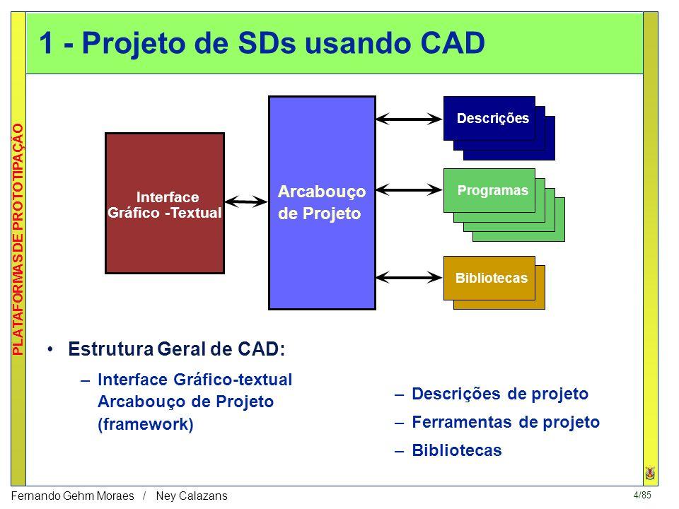 1 - Projeto de SDs usando CAD