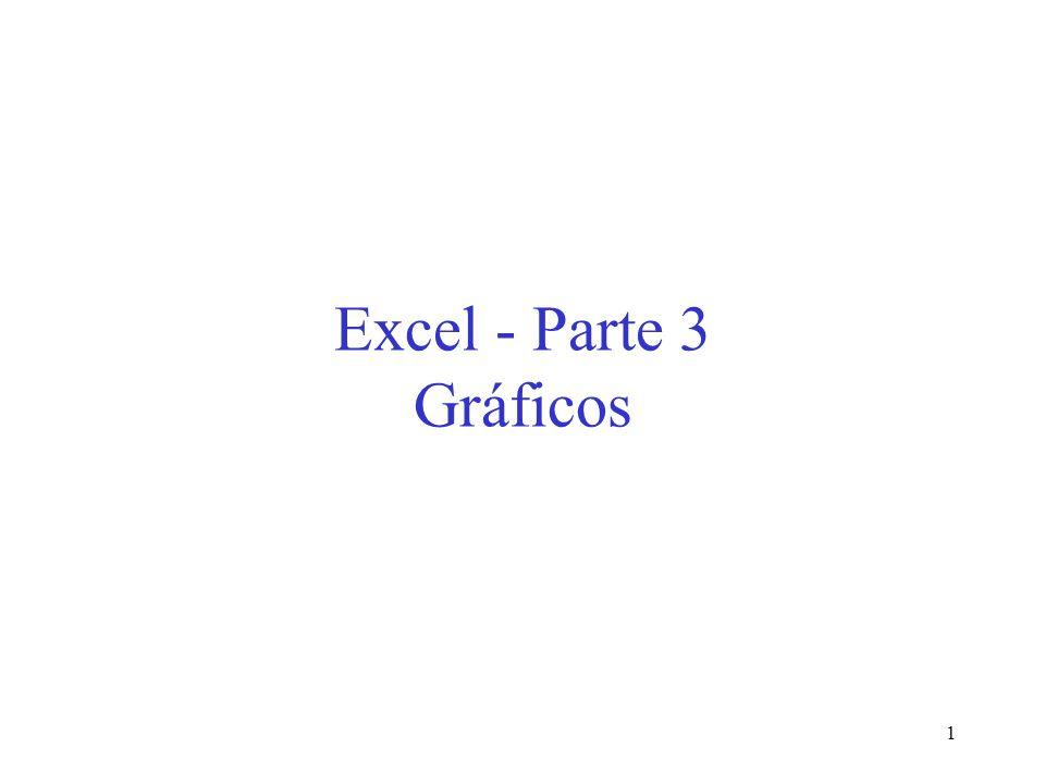 Excel - Parte 3 Gráficos